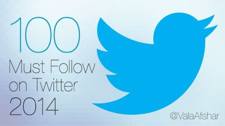 100 comptes Twitter à suivre