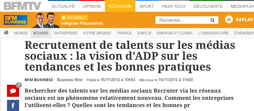 Recrutement de talents