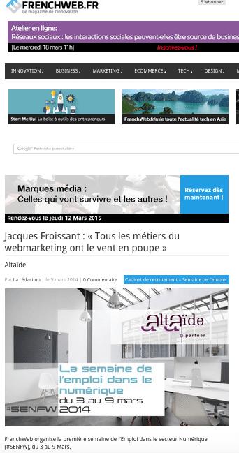 métiers du webmarketing