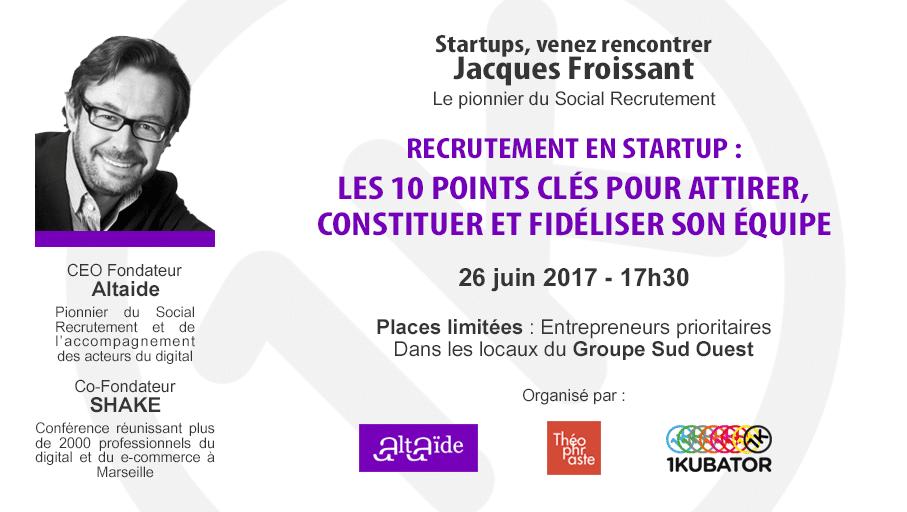 Recrutement en startup à Bordeaux