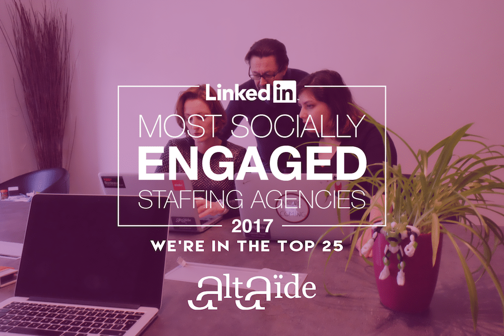 Linkedin Most Socially Engaged